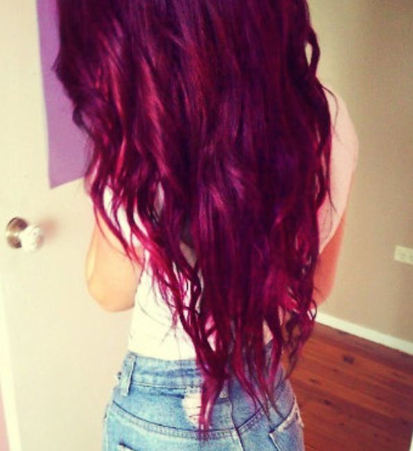 1000 Images About Purple Hair On Pinterest Colors Long