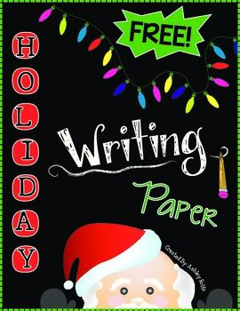 Thematic writing paper