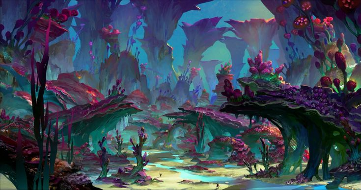 underwater city concept art - Google Search