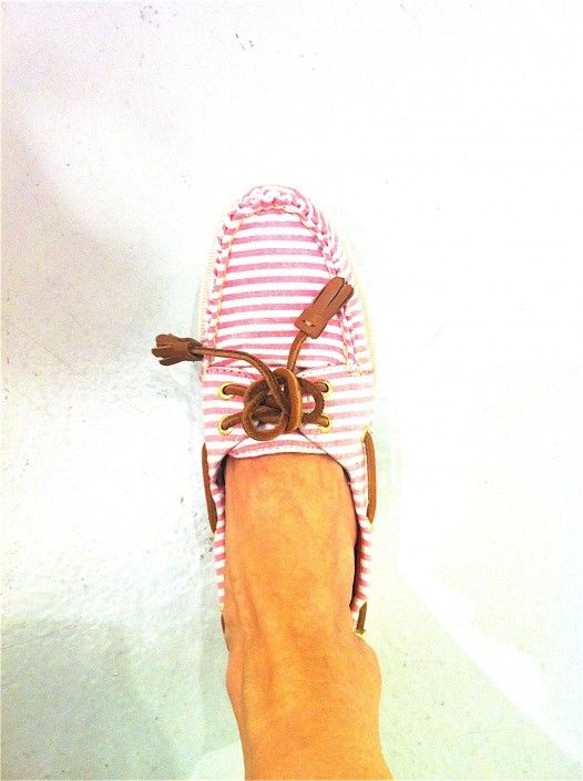 Les chaussures de bateau de Sperry Top Sider