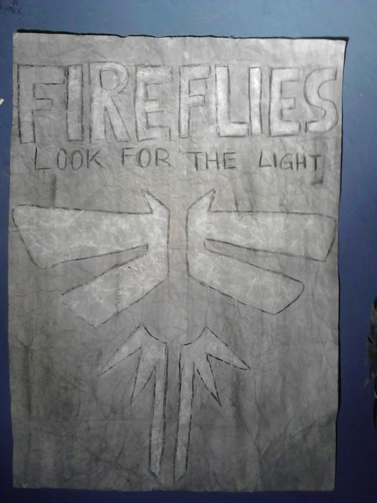 Fireflies From The Last of Us