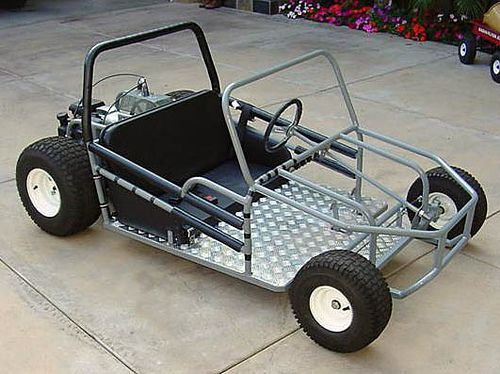 Belt driven go cart 500 374 ideas for bick for Golf cart plans