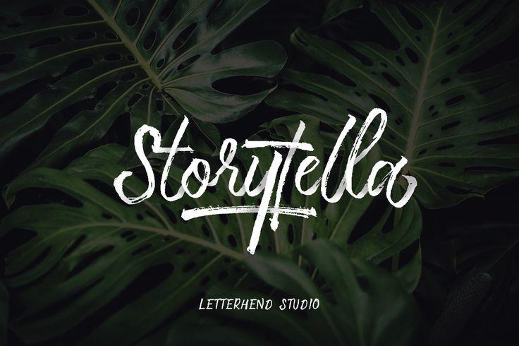[Free Font] Storytella on Behance