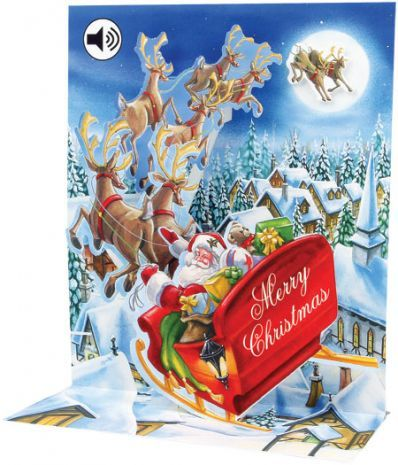 Up With Paper :: SS043 Santa's Sleigh Ride