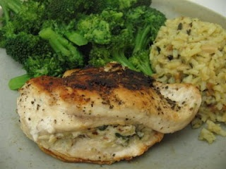 Almond Stuffed Chicken