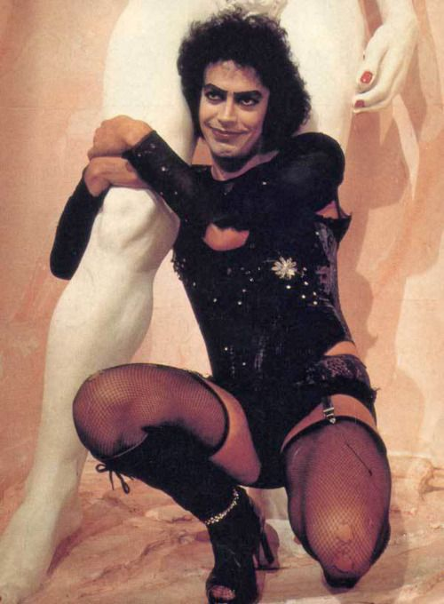 Tim Curry as Dr Frank-N-Furter in 'The Rocky Horror Picture Show', 1975