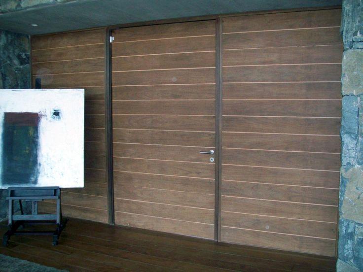 Puerta de Ingreso machiembrada horizontal