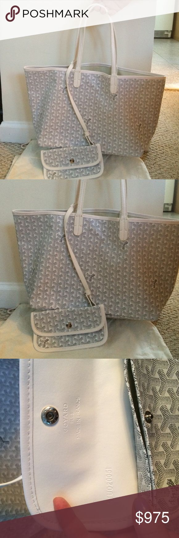 Goyard St louis tote Goyard pm st louis tote. Comes with the pouchlette.no stains on the bag. Does not comes with the dust bag. Goyard Bags Totes