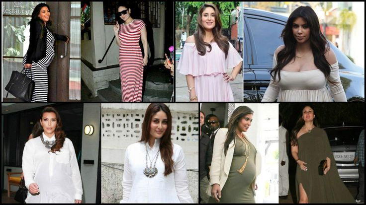 Copy Cat! Kareena Kapoor Khan Following Kim Kardashian's Pregnancy Style…!!!