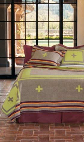 NAVAJO CONTEMPORARY BLANKET COLLECTION    SOUTHWEST CONTEMPORARY BLANKET  71529    $228.00 - $358.00  { view details }    View Size Chart  TWIN  $228.00  QUEEN  $308.00  KING  $358.00    Quantity:     ADD MONOGRAMMING  { what is an embroidered monogram? }  ADD EMBROIDERY  { what is embroidered personalization? }  ADD HANGING TABS - $32.00 EACH BLANKET  { what are hanging tabs? }