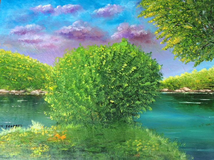 SYRIAN NATURE - Nasri Georges Art