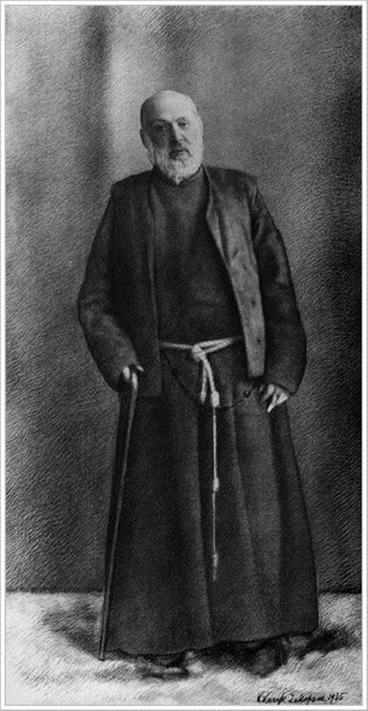 """St. Albert Chmielowski was a Polish Religious Brother and founder of the Albertine Brothers and Sisters. In recognition of his holiness, he is often called """"Our God's Brother"""".... In 1949, Pope John Paul II, who was at the time Fr Karol Wojtyla, wrote a well-received play about Albert called Our God's Brother, which was made into a film with the same title (pl) in 1997. John Paul II later said that he found great spiritual support for his own vocation in the life of St. Albert..."""