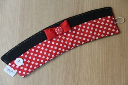 Minnie Mouse Coffee Cup Sleeve on Crafty Staci