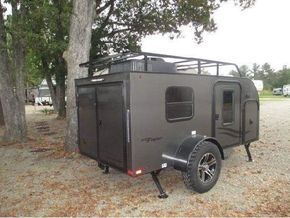 This unique teardrop trailer is all about breaking the mold.