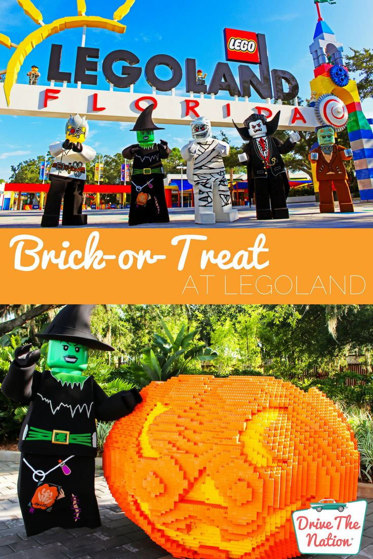 Everything is awesome at LEGOLAND's Halloween event!