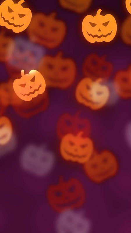halloween pumpkin wallpaper samsung smartphone - Halloween Party Wallpaper
