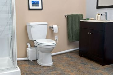 Awesome Adding A Basement Bathroom without Digging