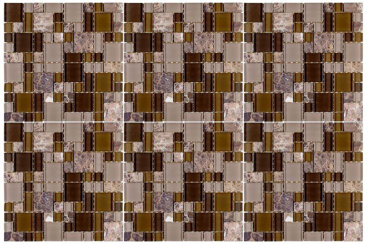 9 best Kitchen Tiles images on Pinterest | Mosaik, Küchen und ...