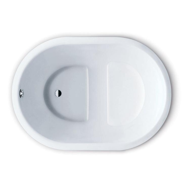 Kaldewei 177 Kusatsu Pool Oval Tub Soaking Bathtub