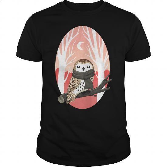 winter owl - #designer shirts #mens dress shirt. BUY NOW => https://www.sunfrog.com/LifeStyle/winter-owl-Black-Guys.html?60505