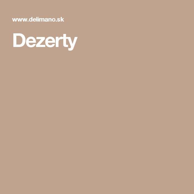 Dezerty