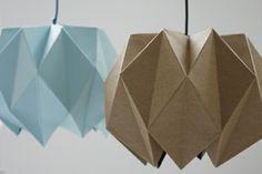 Origami Lampenschirm - Anleitung für Bastler