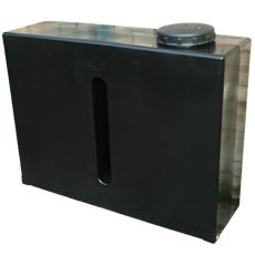 280 Litre Water Tank | Small water tank - black