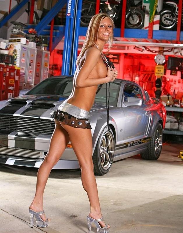 Mustang chicks nude #1