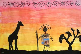 The Art Factory: African Sunsets