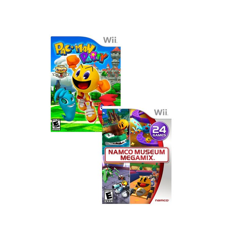 Namco Museum & Pacman Party Value Pack for Nintendo Wii