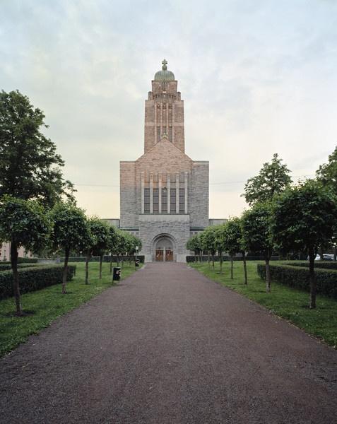 Kallio Church, Finland, designed by Lars Sonck.