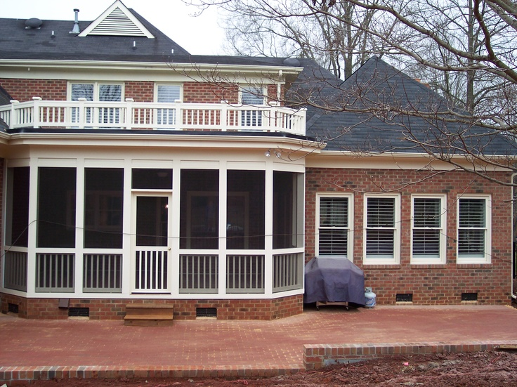 Kolby Construction Charlotte: 28 Best Screened-In Porch Images On Pinterest