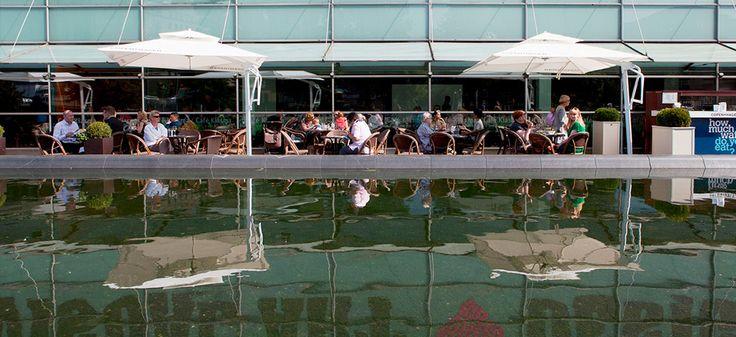 Café Kiasma. Kuva: Kansallisgalleria / Pirje Mykkänen