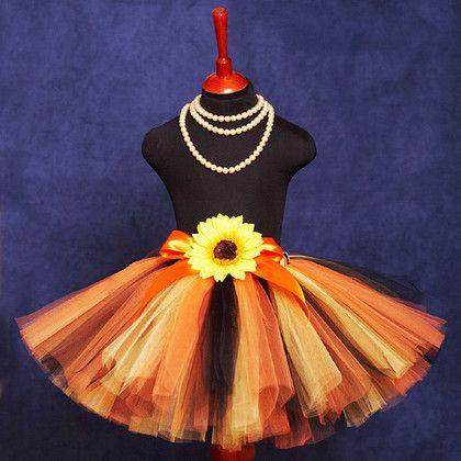 """Одежда для девочек, ручной работы. Ярмарка Мастеров - ручная работа. Купить """"Тигренок на подсолнухе"""" пышная юбка-пачка из фатина. Handmade."""