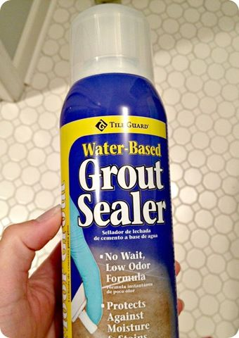 One Hour Spray Grout Sealer Part 79