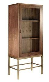 Cooper Bar Cabinet  MidCentury  Modern, Metal, Wood, Cabinet by Desiron
