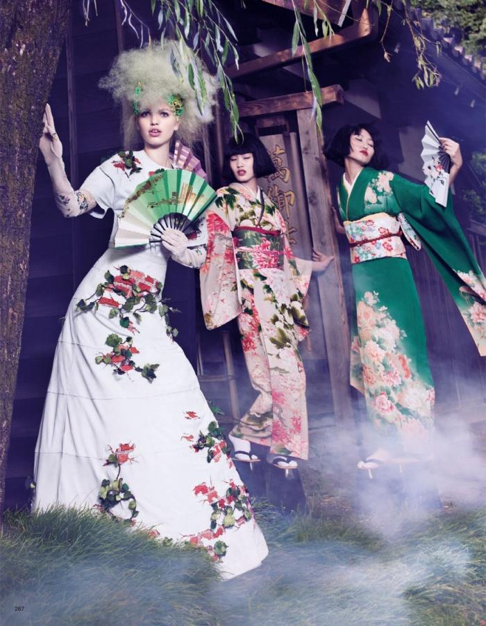 'The Secret Chatter of Golden Monkeys' | Daphne Groeneveld By Mark Segal For Vogue Japan | November2012