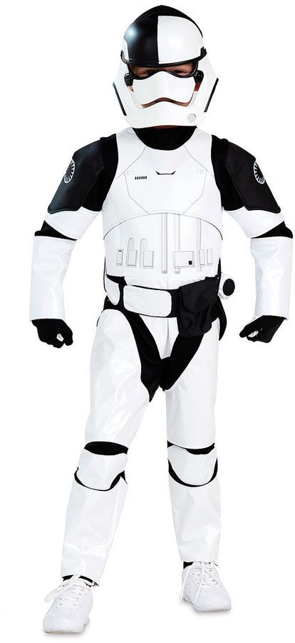 Disney The First Order Judicial Stormtrooper Costume for Kids - Star Wars: The Last Jedi