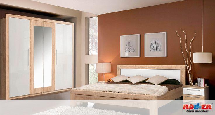 Eiche Sonoma Schlafzimmer : diesem gem?tlichen Schlafzimmer in der Farbkombination SonomaEiche