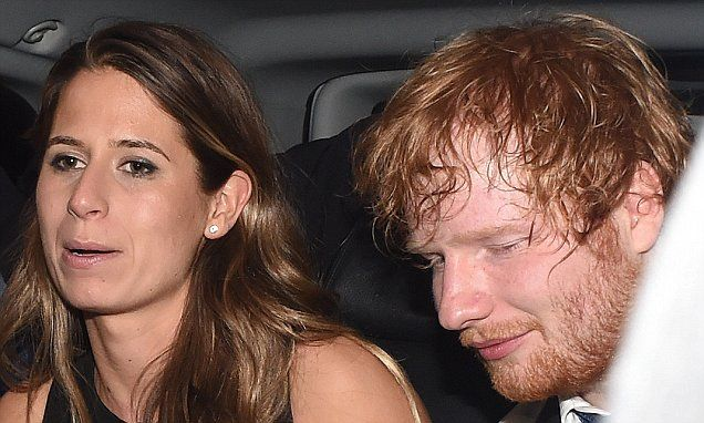 Ed Sheeran looks bleary-eyed at party with girlfriend Cherry Seaborn