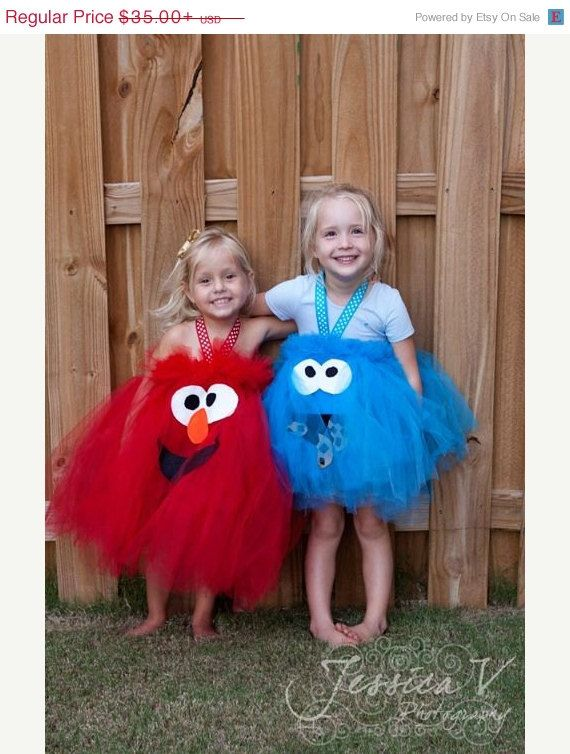 EARLY HALLOWEEN SALE Elmo Inspired Tutu Dress Halloween Costume for birthday or dress up playtime or parades halloween on Etsy, $31.50