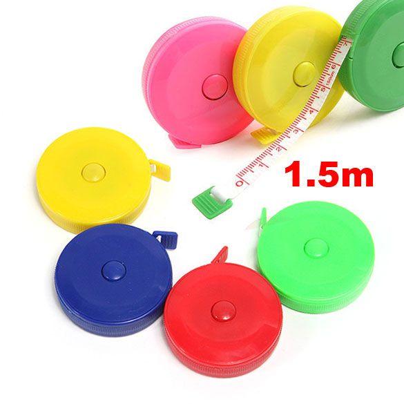 Jahit Retractable Ruler Tape Measure 1.5 M 60 Inch W
