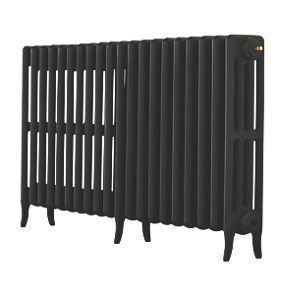 Order online at Screwfix.com. Arroll Neo-Classic cast iron radiators are simple, stylish and work perfectly in both period and modern interior schemes. 3D mould technology castings. Can be used with Arroll luxury wall stays and traditional bleed valves. Black Primer ready for you to paint with heat-resistant paint (water based paints should not be used). FREE next day delivery available, free collection in 5 minutes.