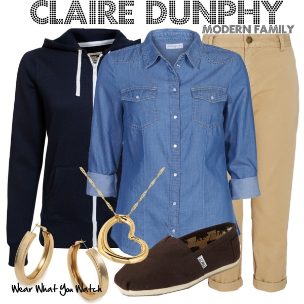 Inspired by Julie Bowen as Claire Dunphy on Modern Family.
