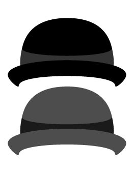 Bowler Hat Photo Booth Prop
