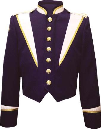 #marching band uniform jacket