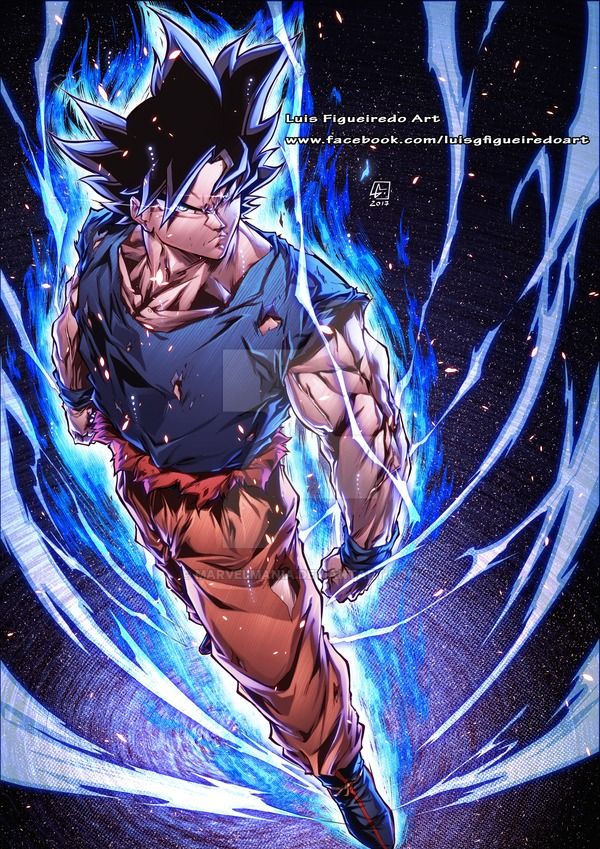 Goku Ultimate Instinct Color By Marvelmania Deviantart Com On Deviantart Anime Dragon Ball Super Dragon Ball Artwork Dragon Ball Art