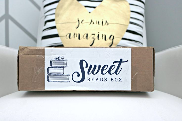 Enjoy Me Time with a Sweet Reads Box! A subscription box that sends a top best-seller book, and other goodies that bookworms only dream about!