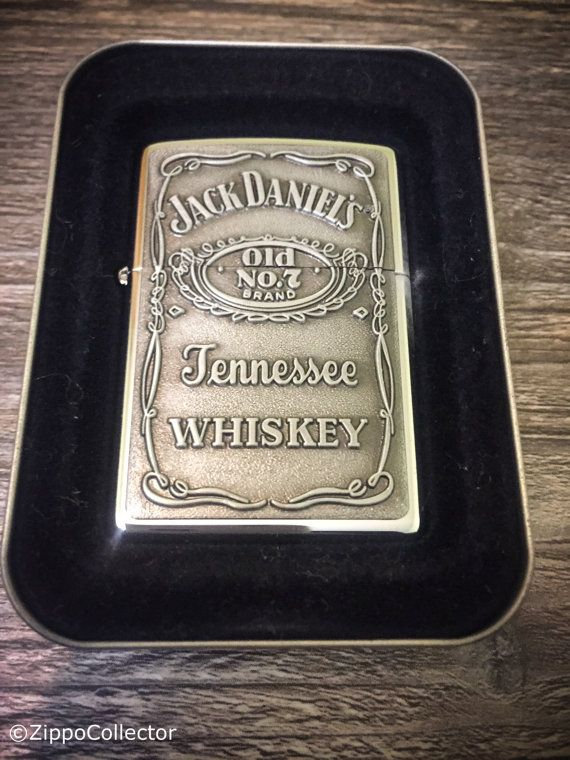1997 Jack Daniels Old No.7 Zippo Lighter Pewter by ZippoCollector