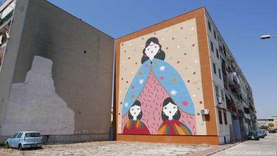 Due nuove opere di street Art a Castello di Cisterna e a Ponticelli, firmate da una giovane artista cagliaritana La Fille Bertha